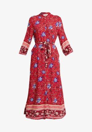 ODELLA DRESS - Skjortekjole - red velvet