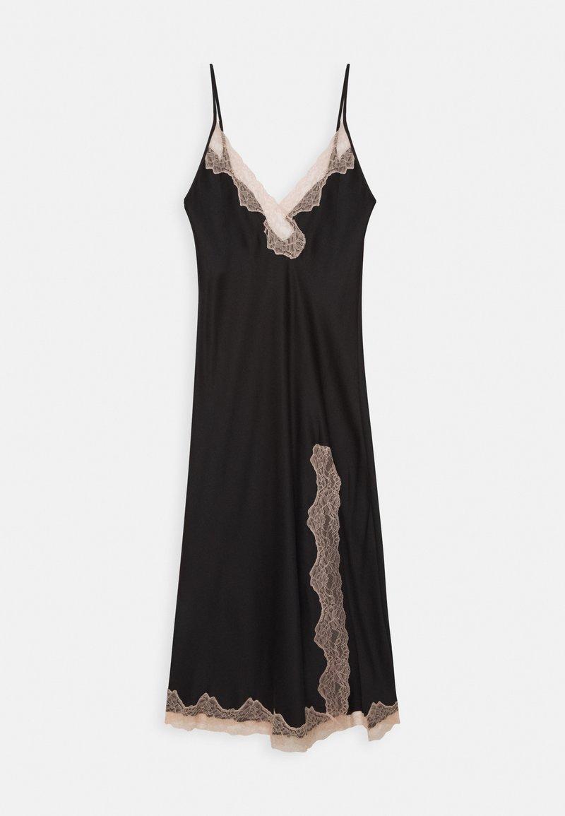 Ann Summers - MAXI CHEMISE - Negligé - black/nude