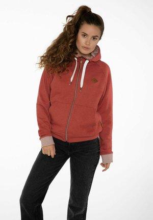 SUMATRA - Zip-up hoodie - clay