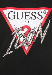 Guess - ICON  - T-shirt con stampa - jet black - 2