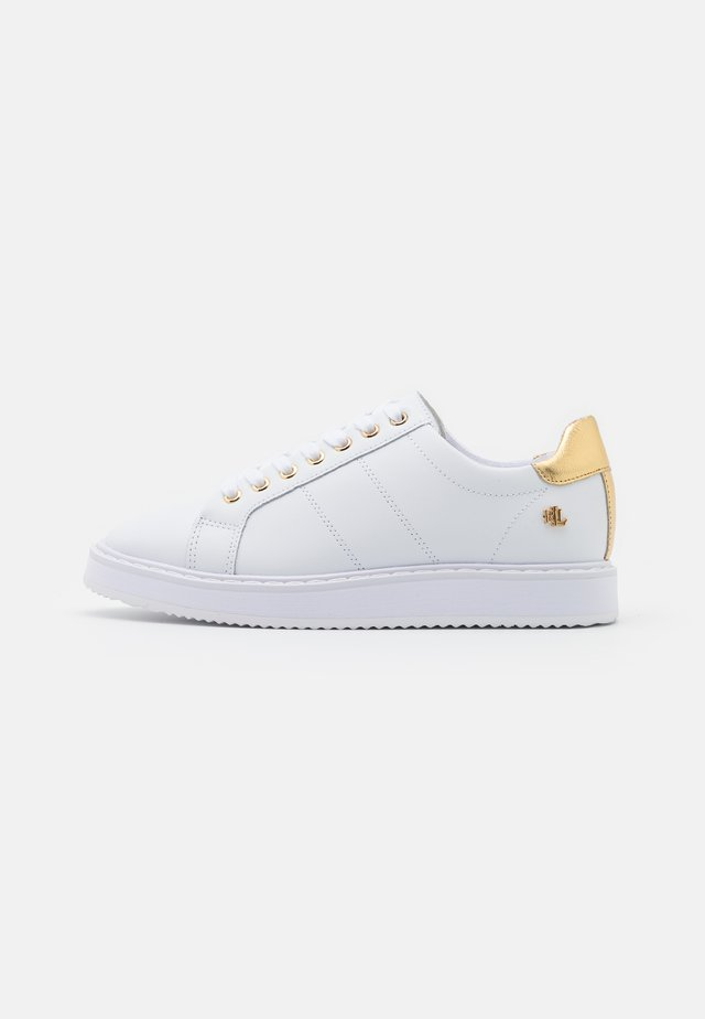 ANGELINE  - Trainers - white/gold