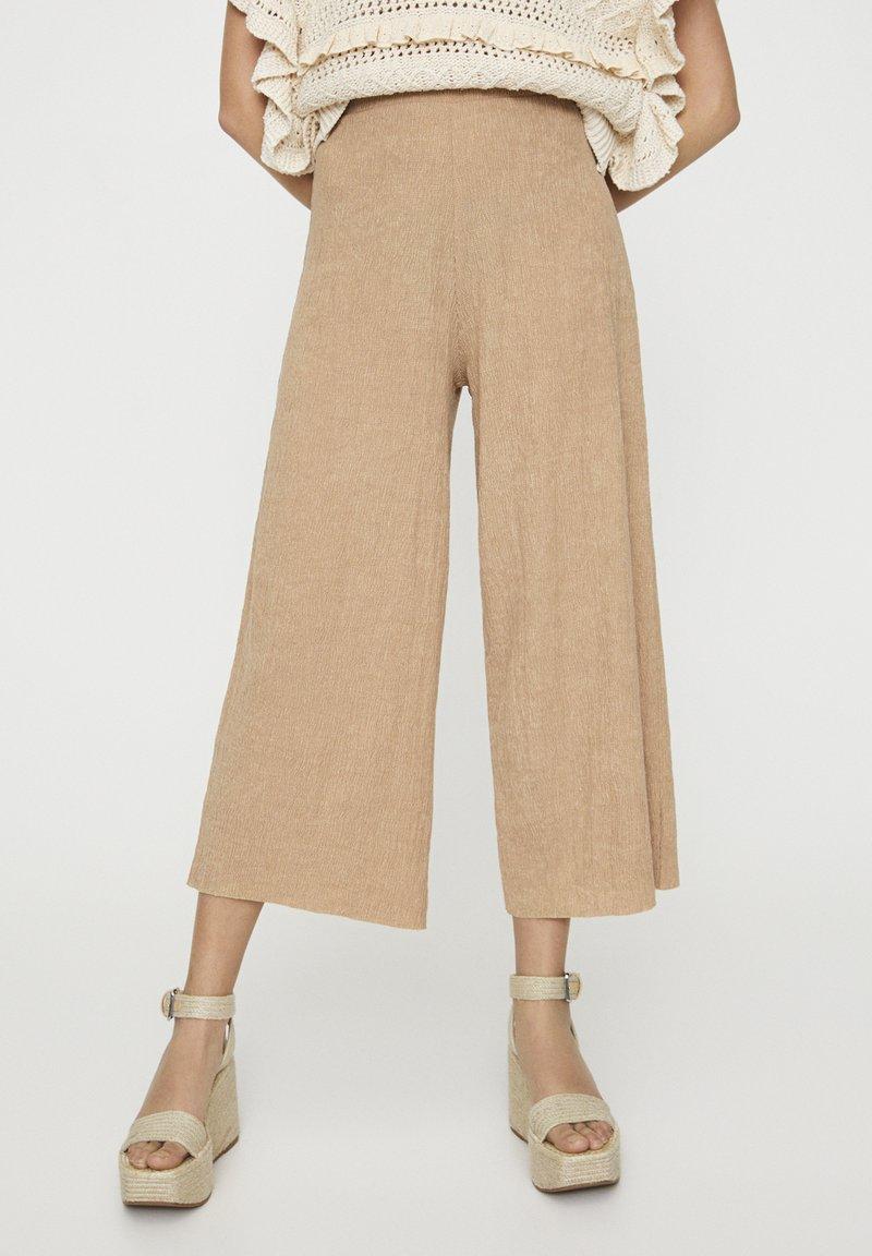 PULL&BEAR - Kalhoty - beige