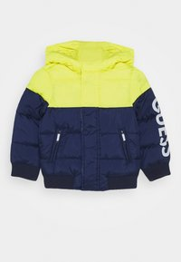 Guess - HOODED PADDED JACKET BABY - Winter jacket - bluish - 0
