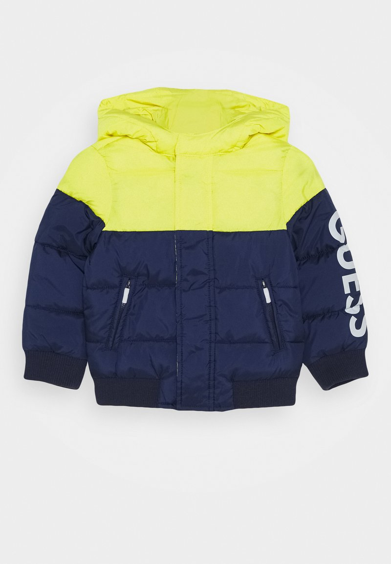 Guess - HOODED PADDED JACKET BABY - Winter jacket - bluish