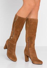 mint&berry - High heeled boots - cognac - 0