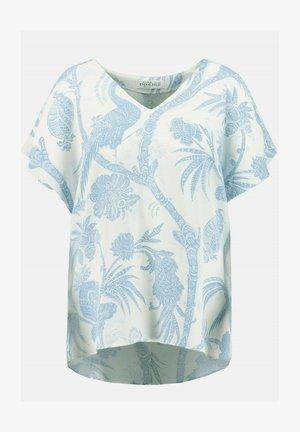 T-shirt print - schneeweiß