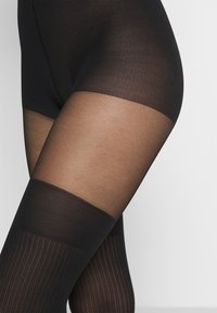 Swedish Stockings - DAGMAR OVERKNEE TIGHTS - Collant - black - 2