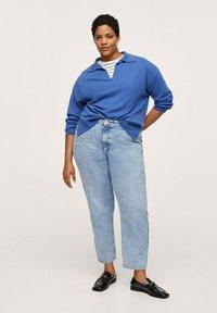 Mango - MOM - Slim fit jeans - mittelblau - 1