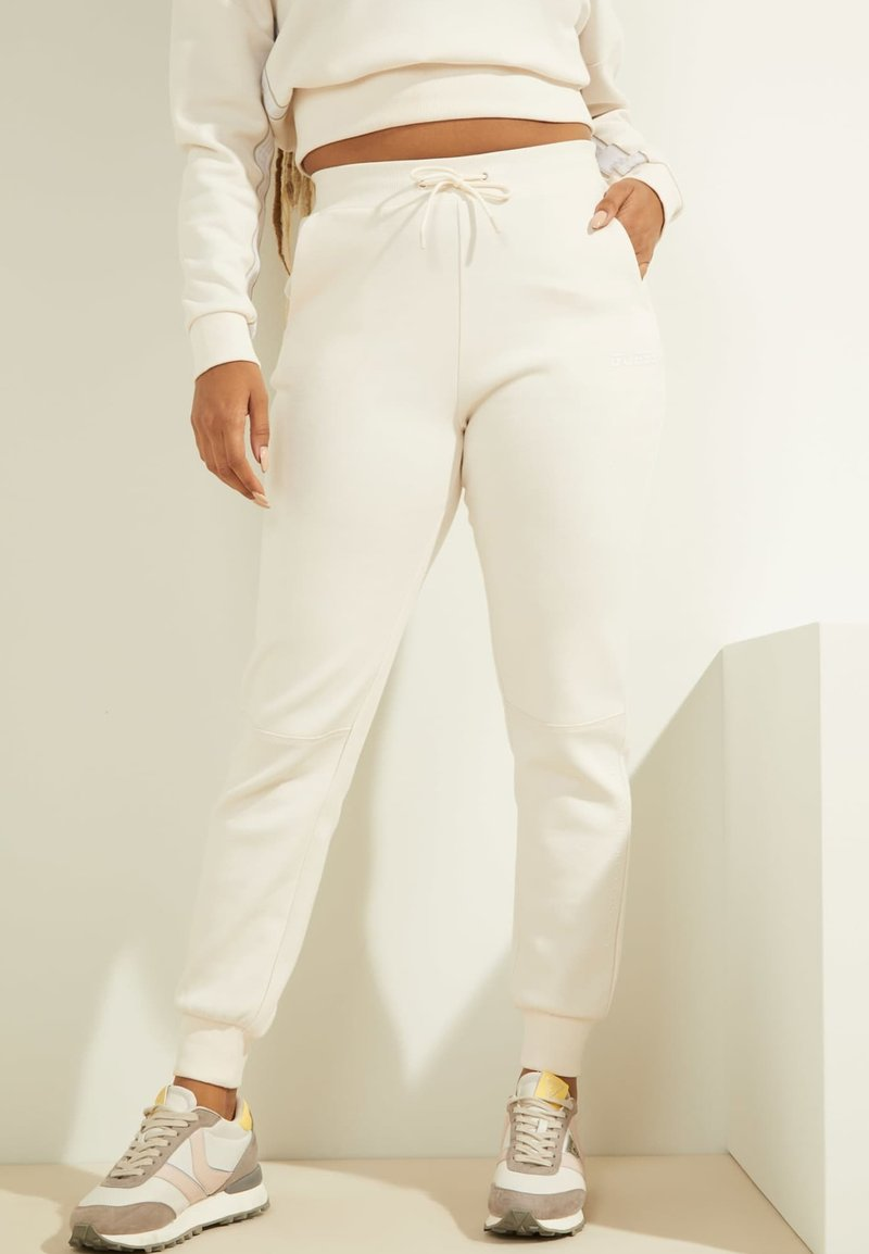 Guess - Tracksuit bottoms - creme