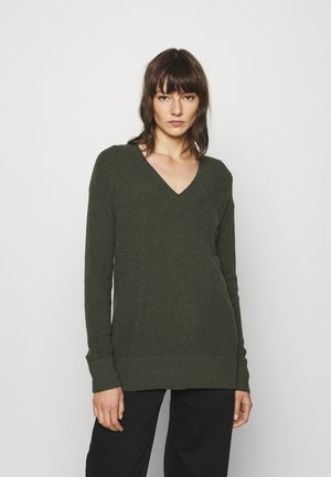Pullover - olive heather