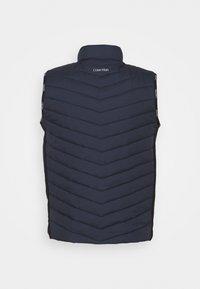 Calvin Klein - CRINKLE VEST - Waistcoat - blue - 1