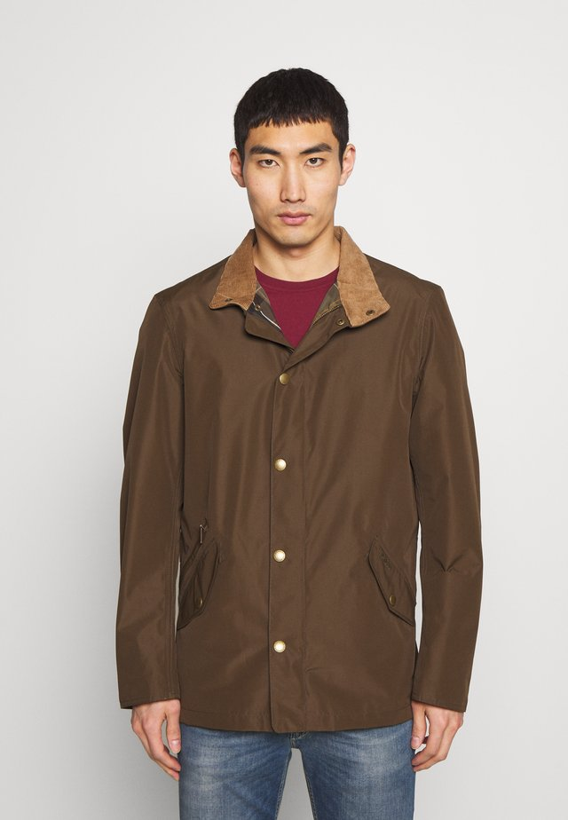 BARBOUR SPOONBILL - Summer jacket - dark olive