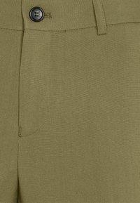 Lindbergh - PLAIN MENS SUIT - Traje - light army - 7