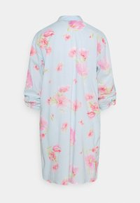 Lauren Ralph Lauren - SHORT SLPSHIRT 3/4 - Nattskjorte - turquoise - 1