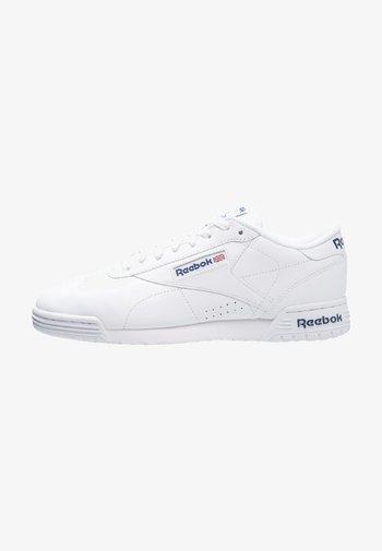 EXOFIT LO CLEAN LOGO SHOES - Sneakers - white/royal blue
