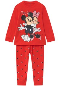 Name it - DISNEY MINNIE MOUSE - Pyžamová sada - high risk red - 0