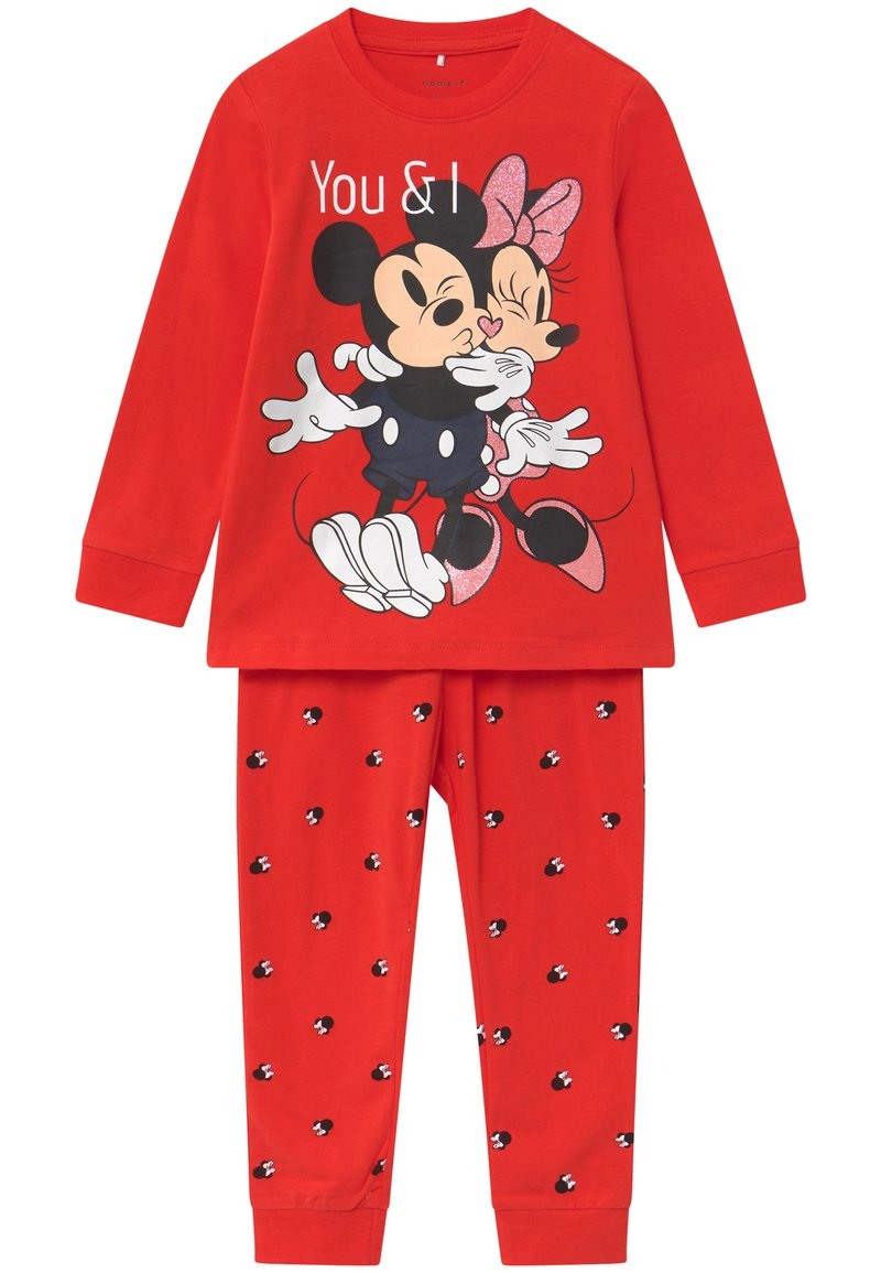 Name it - DISNEY MINNIE MOUSE - Pyžamová sada - high risk red