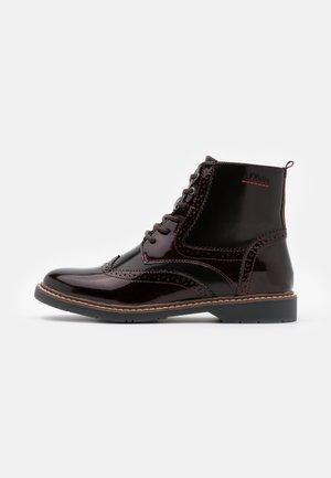 BOOTS - Lace-up ankle boots - bordeaux