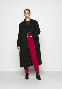 Weekday - LAYA - Klasický kabát - black - 1
