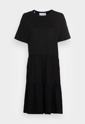 SLFRYLIE SHORT DRESS  - Trikoomekko - black