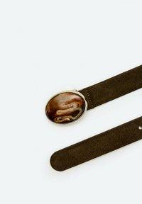 Uterqüe - IN STEINOPTIK  - Belt - brown - 3