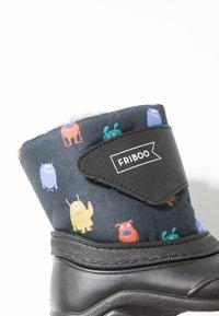 Friboo - Snowboots  - black/petrol - 2