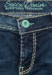 Soccx - Slim fit jeans - dark stone used - 2