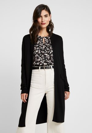 LONG - Cardigan - black