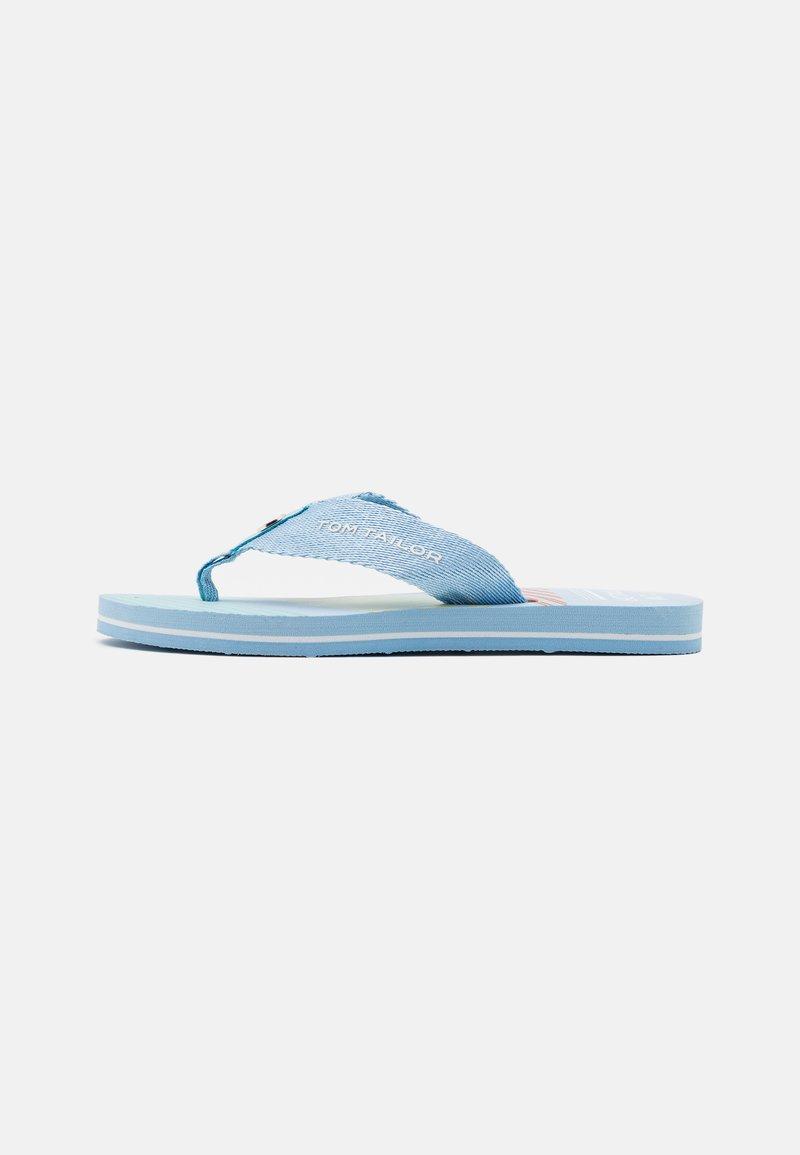 TOM TAILOR - T-bar sandals - blue