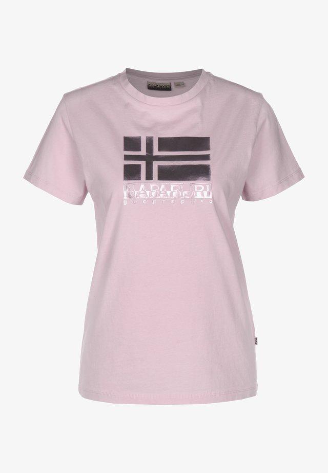 SHYAMOLI - Print T-shirt - petal pink