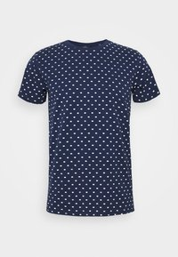 Scotch & Soda - ALLOVER PRINTED TEE - T-shirt print - dark blue/white - 4