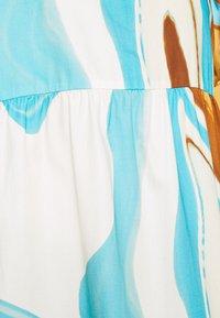 HOSBJERG - AGNETHE LONG DRESS - Denní šaty - desert liquid blue - 7