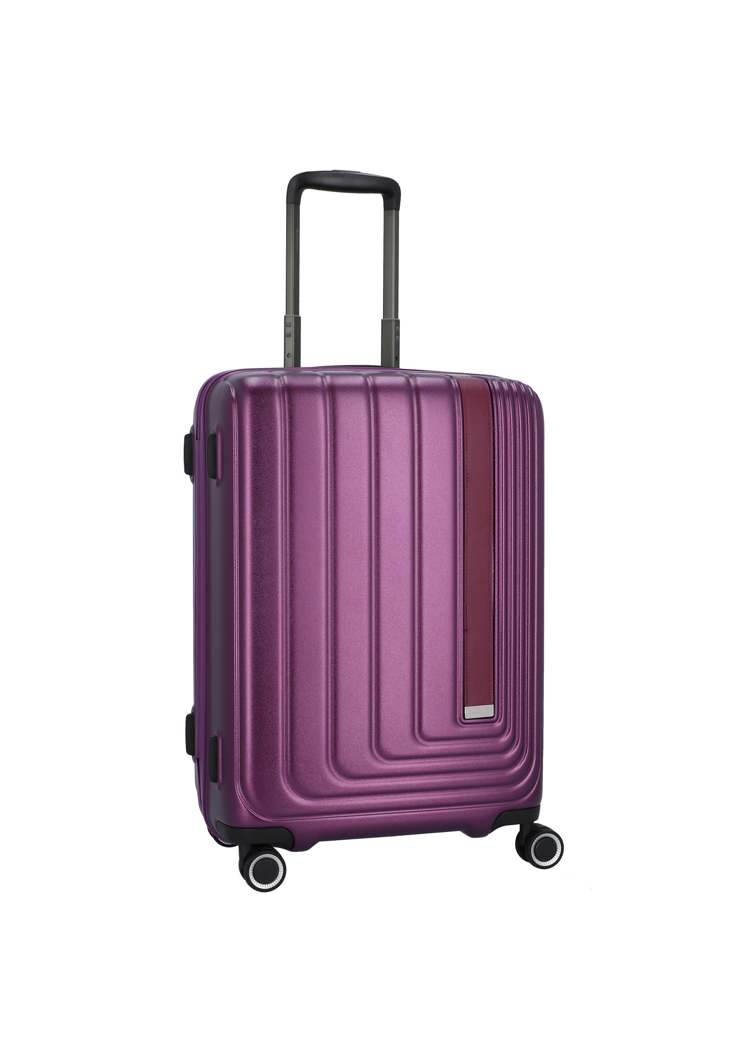 march luggage SET - Kofferset - purple metallic/lila - Herrentaschen f9GWC