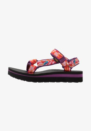 MIDFORM UNIVERSAL WOMENS - Walking sandals - hummingbird gloxinia