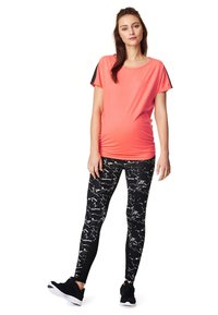 Noppies - T-shirt basic - coral - 0