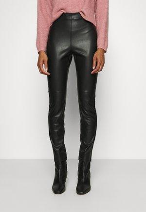 TROUSERS RONNA  - Leggings - Trousers - black