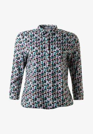 Button-down blouse - 7630multi