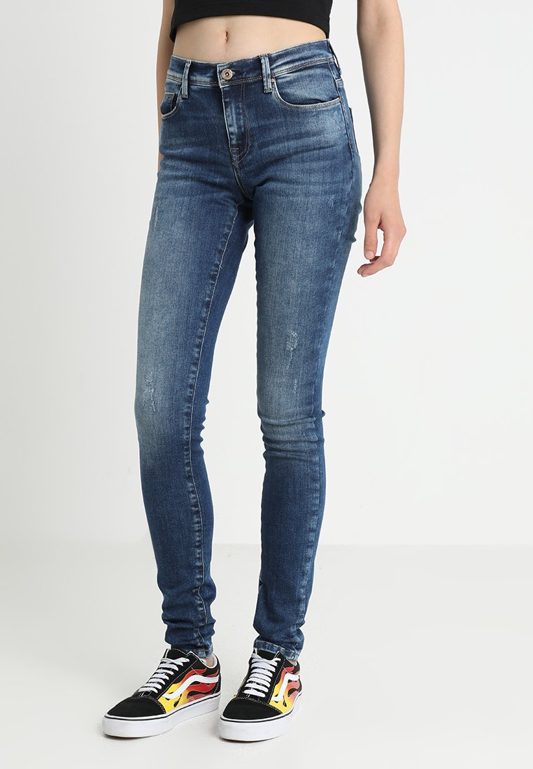 ONLY - ONLSHAPE - Jeans Skinny Fit - dark blue denim