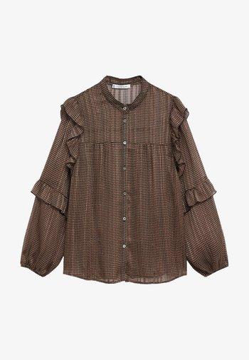 BENGALA - Button-down blouse - schwarz