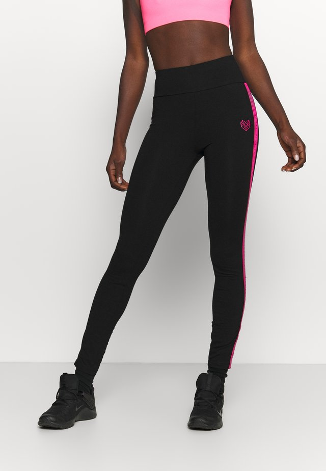 TANISHA TAPE LEGGING - Legging - black