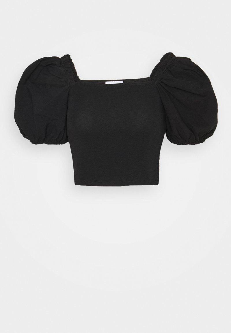 Topshop - BALLOON - Camiseta estampada - black