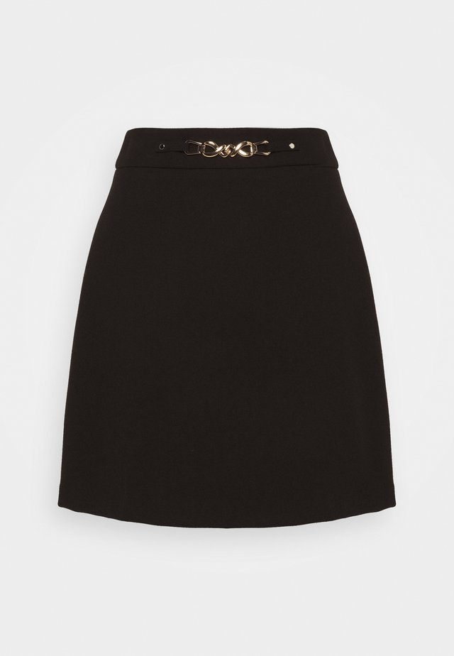 A-linjekjol - noir