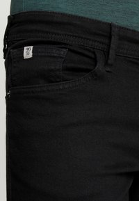 TOM TAILOR DENIM - CULVER PRICE STARTER - Jeans Skinny Fit - black denim - 3
