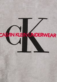Calvin Klein Underwear - ROBE UNISEX - Župan - grey - 3