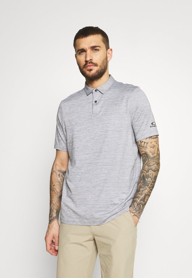 CONTENDER - Poloshirt - light grey heather