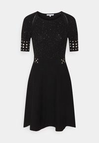 Patrizia Pepe - ABITO DRESS - Gebreide jurk - black - 0