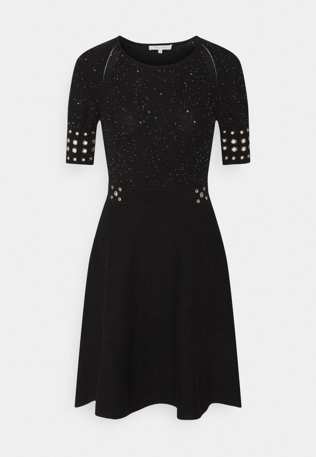 ABITO DRESS - Robe pull - black
