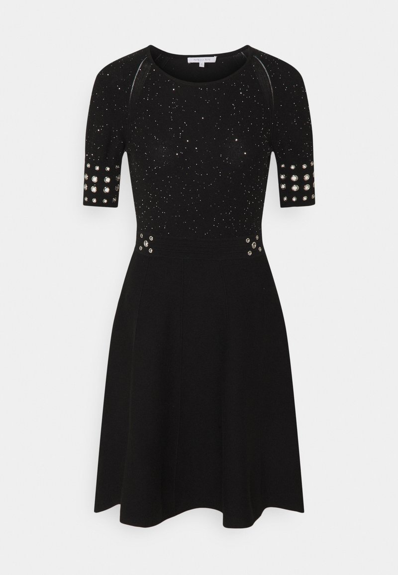 Patrizia Pepe - ABITO DRESS - Gebreide jurk - black