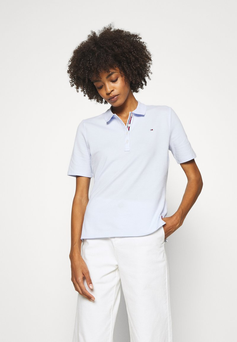 Tommy Hilfiger - TH ESSENTIAL POLO  - Poloshirts - bliss blue