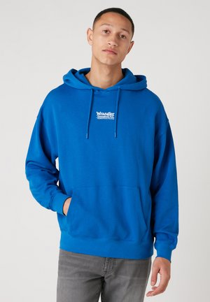 Luvtröja - wrangler blue